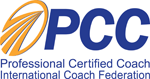 Professional Certified Coach, International Coaching Federation